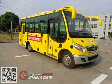 华新牌HM6662CFD5J型城市客车图片1