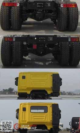 CQ3316HMVG306L型红岩牌自卸汽车图片3