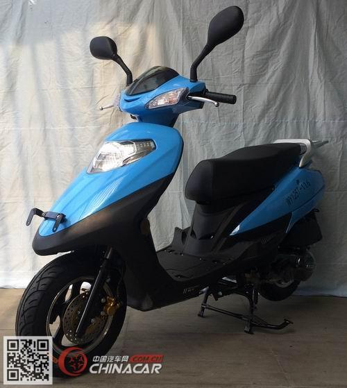 王野牌WY125T-116型两轮摩托车图片