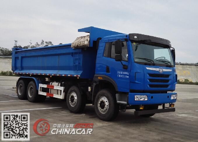 CA3310P2K2L3T4E5A80-2型解放牌平头柴油自卸汽车图片1