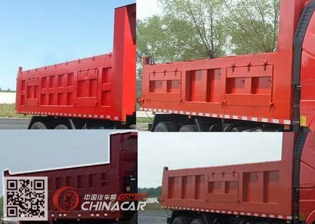 CA3310P2K2L3T4E5A80-2型解放牌平头柴油自卸汽车图片3
