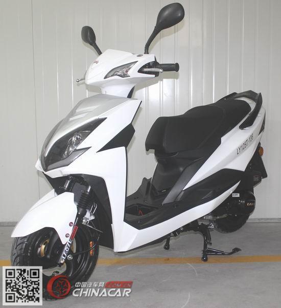 老爷牌LY125T-136型两轮摩托车图片