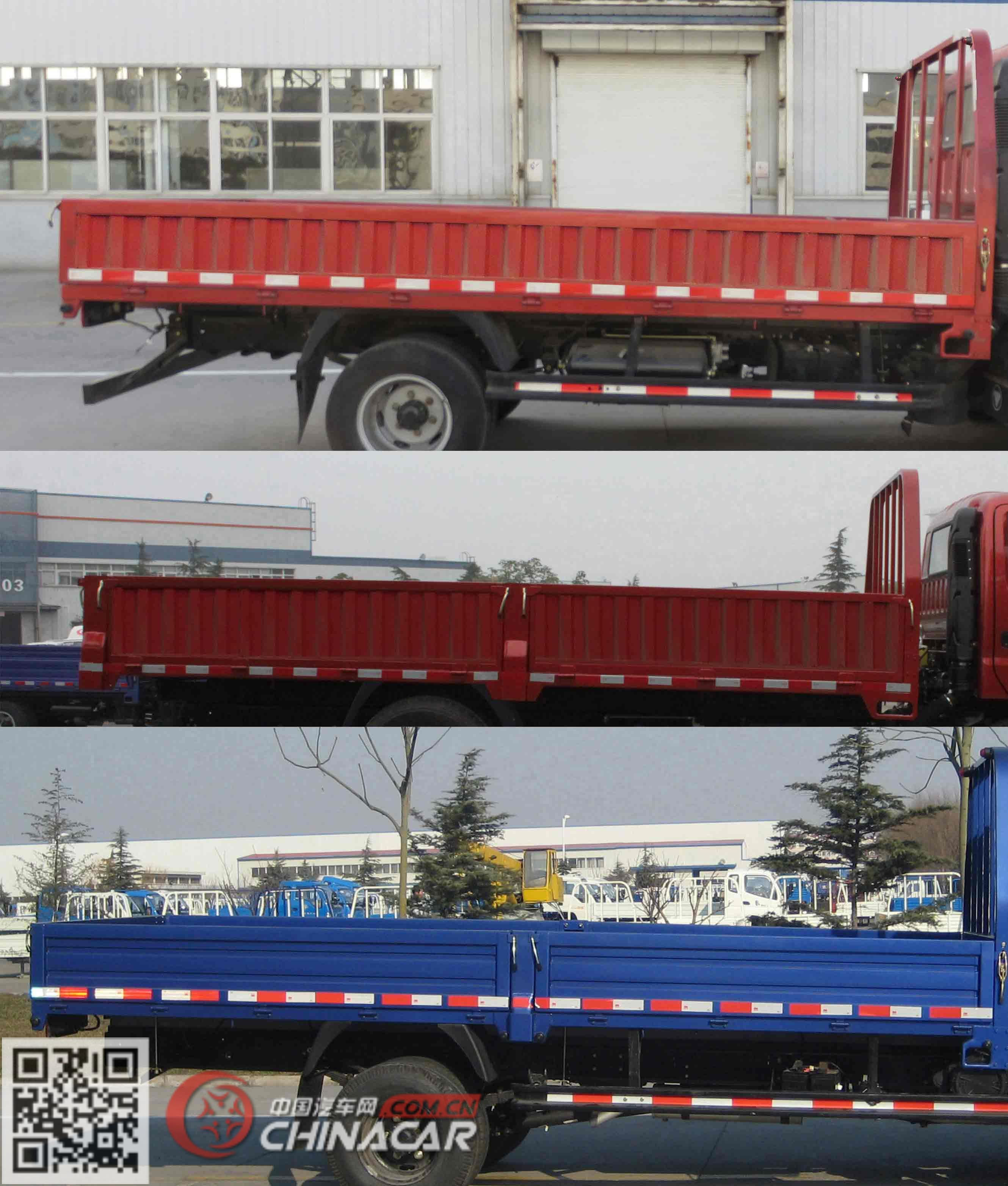 BJ1043V9JD6-AA型福田牌载货汽车图片3