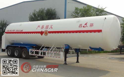 HCH9402GDYF型昌骅牌低温液体运输半挂车图片1