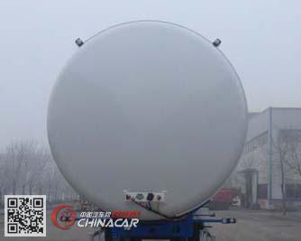 HCH9402GDYF型昌骅牌低温液体运输半挂车图片3
