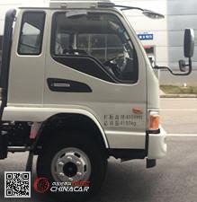 HFC2043P91K1C2V-S型江淮牌越野载货汽车图片2