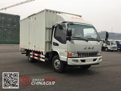 HFC2043XXYP91K1C2V-S型江淮牌越野厢式运输车图片1