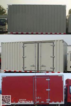 HFC2043XXYP91K1C2V-S型江淮牌越野厢式运输车图片3