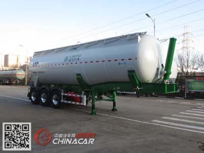 CLY9405GFLD型凌宇牌铝合金中密度粉粒物料运输半挂车图片1