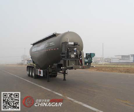SHB9400GFLA型红荷北斗牌中密度粉粒物料运输半挂车图片1