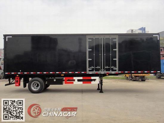 GDY9180XXY型上元牌厢式运输半挂车图片2