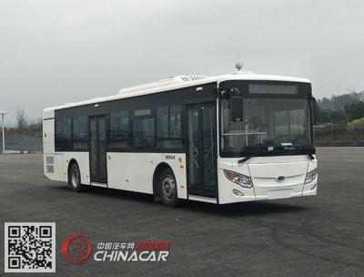 NJL6129HEVN4型开沃牌插电式混合动力城市客车图片1