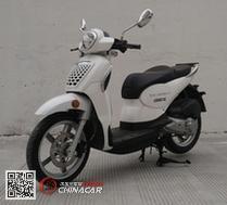 LS50QT-2C型乐士牌两轮轻便摩托车图片1