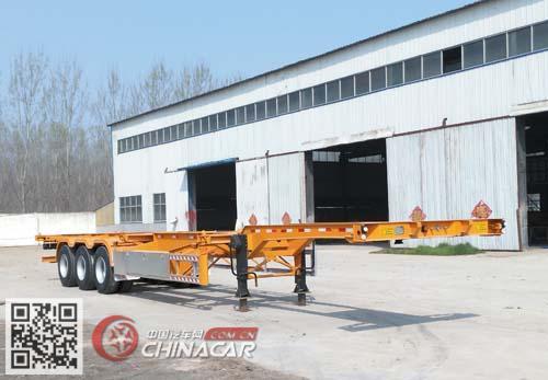 TYS9400TJZE型梁博牌集装箱运输半挂车图片1