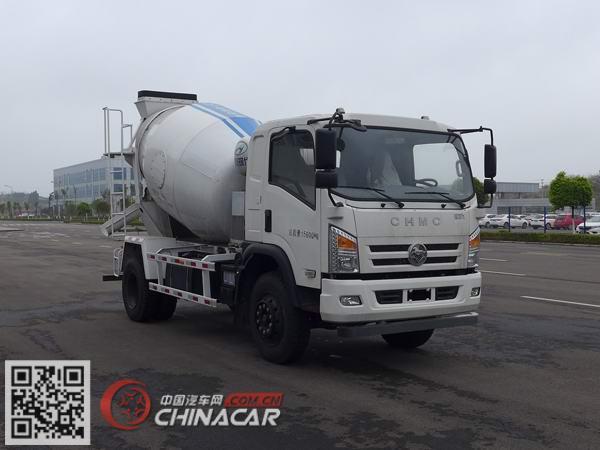 南骏牌CNJ5160GJBQPB37V型混凝土搅拌运输车图片