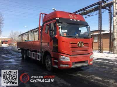 CA1250P66K24L5T1E5型解放牌平头柴油载货汽车图片1