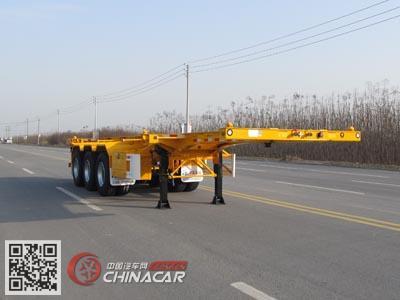 ZJV9400TJZHJH型中集牌集装箱运输半挂车图片1