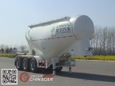 CLY9401GFL2型凌宇牌中密度粉粒物料运输半挂车图片1