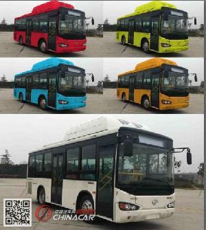 KLQ6850GAHEVC5K型海格牌插电式混合动力城市客车图片2
