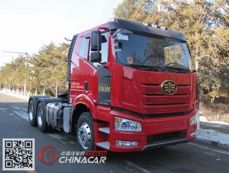 CA4250P66K24T1A4E5型解放牌平头柴油半挂牵引汽车图片2