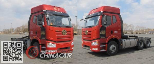 CA4250P66K24T1A4E5型解放牌平头柴油半挂牵引汽车图片4