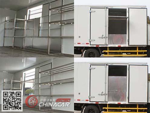 安源牌PK5040XSH5型售货车图片3