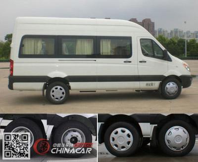 HFC6601EHF型江淮牌轻型客车图片2