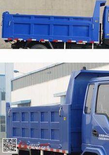 YTP3105BN3AT型英田牌自卸汽车图片2
