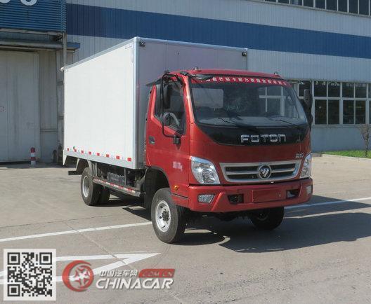 BJ2049Y7JDA-FC型福田牌越野厢式运输车图片1