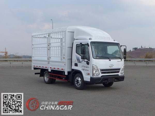 康恩迪牌CHM5041CCYGDC28V型仓栅式运输车图片