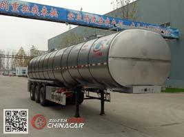 ZPS9400GYS型明航牌液态食品运输半挂车图片1