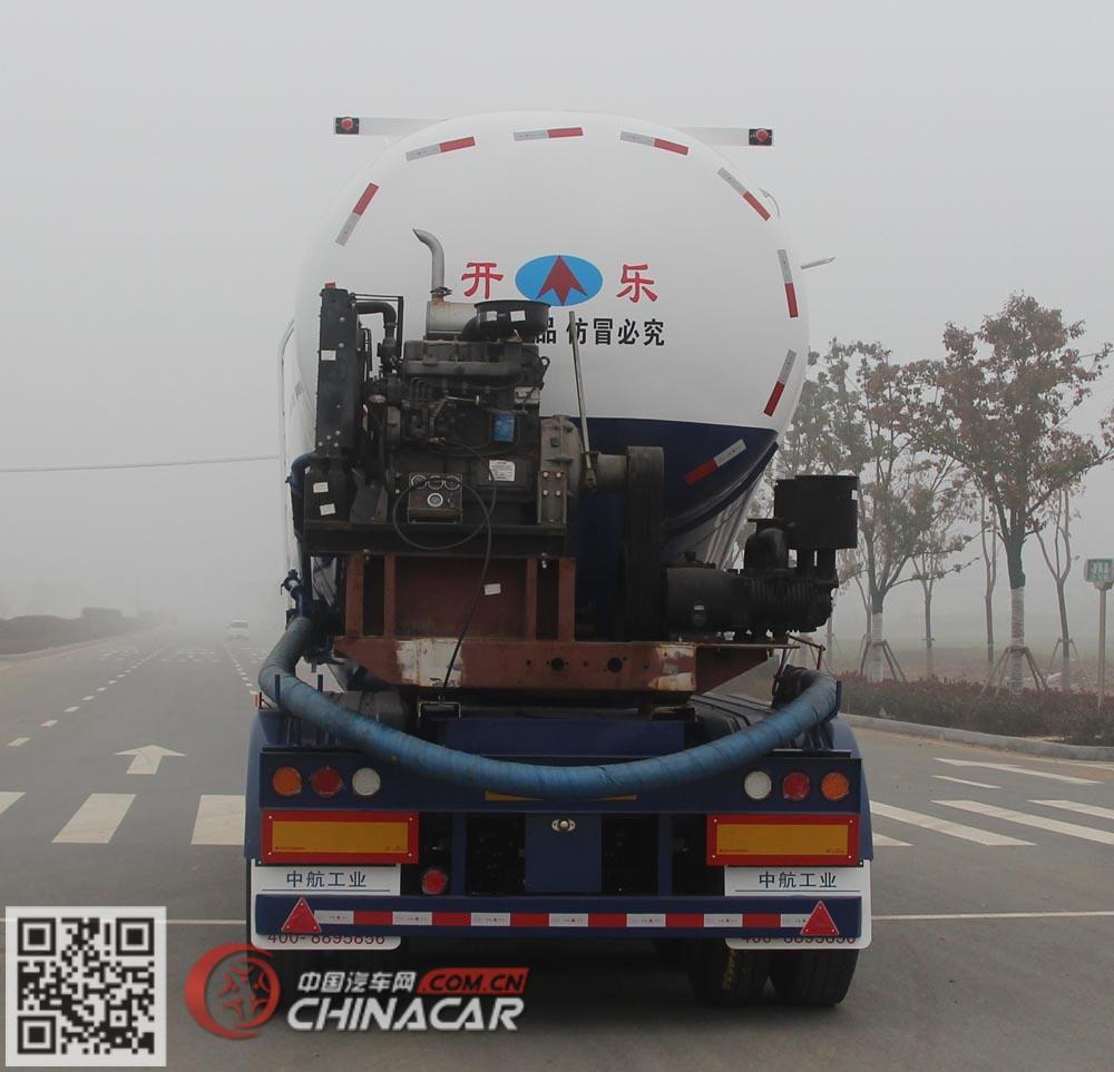 AKL9401GFLB7型开乐牌中密度粉粒物料运输半挂车图片3
