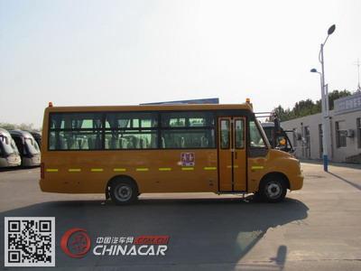 YTK6751X5型舒驰牌幼儿专用校车图片2