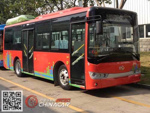 XMQ6850AGPHEVN53型金龙牌插电式混合动力城市客车图片1
