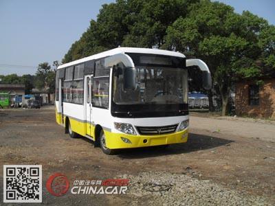 齐鲁牌BWC6665GAN型城市客车图片1