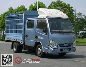 跃进牌NJ5022CCYPBGBNS3型仓栅式运输车图片