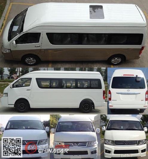 金龙牌XMQ6600BED5型轻型客车图片2