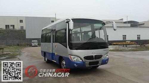 武功牌PX6600Y5型旅游客车图片1