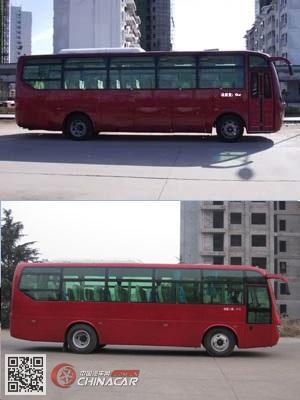 楚风牌HQG6901EA5型客车图片2
