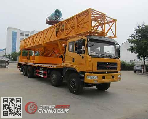 中汽力威牌HLW5310JQJ5HQ型桥梁检测车图片