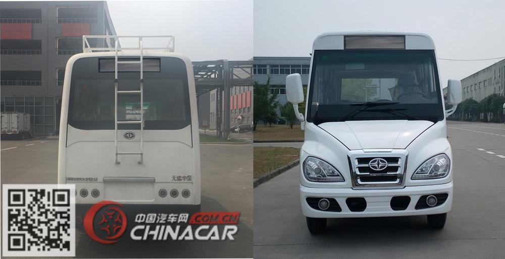 华新牌HM6550CFD5J型城市客车图片3