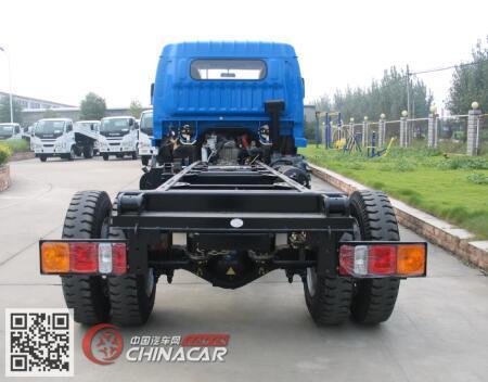 跃进牌sh1162vhdcww4型载货汽车底盘图片