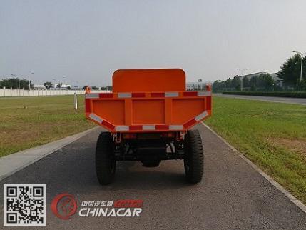 兰驼牌7YP-1450DAG型自卸三轮汽车图片2