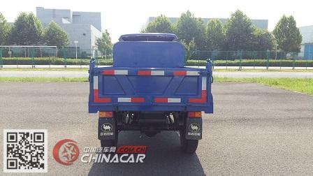 兰驼牌7YP-1450DJ型自卸三轮汽车图片2