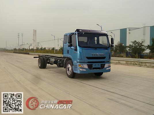 跃进牌sh1162vpdcww4型载货汽车底盘图片