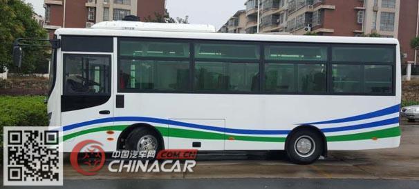 华新牌HM6735CFD5J型城市客车图片3