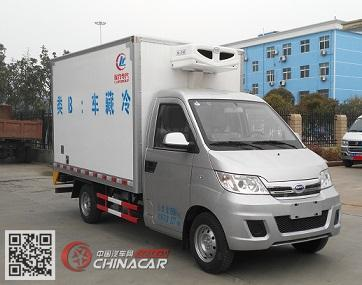 程力威牌CLW5020XLCQ5型冷藏车图片1