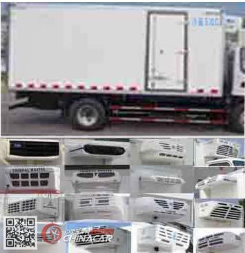 程力威牌CLW5041XLCJ5型冷藏车图片2