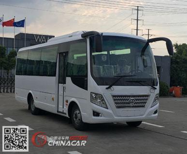 华新牌HM6733LFD5X型客车图片1
