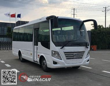 华新牌HM6733LFD5J型客车图片1